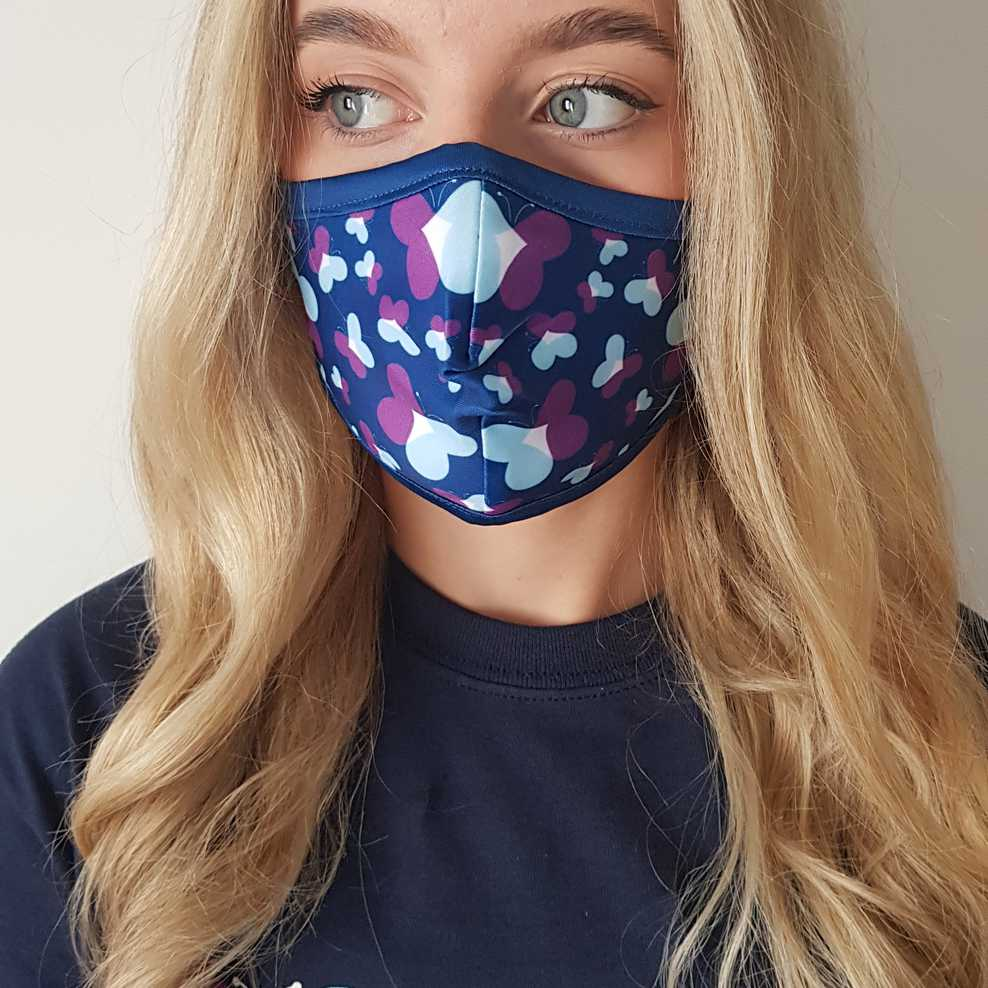 DSUK Butterfly Face Covering Adult/Child