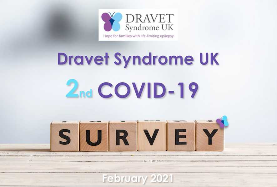 Topline results from second DSUK survey on the impact of COVID-19 provide reassurance for people affected by Dravet Syndrome