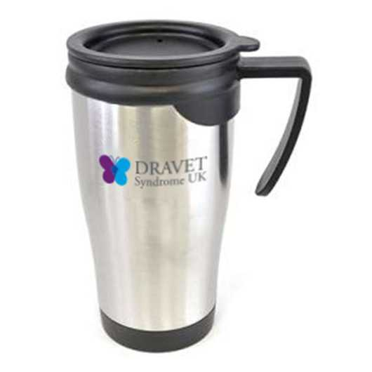 450ml Double Walled Stainless Steel Metal Travel Mug